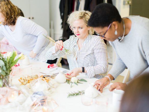 Wedding design workshop