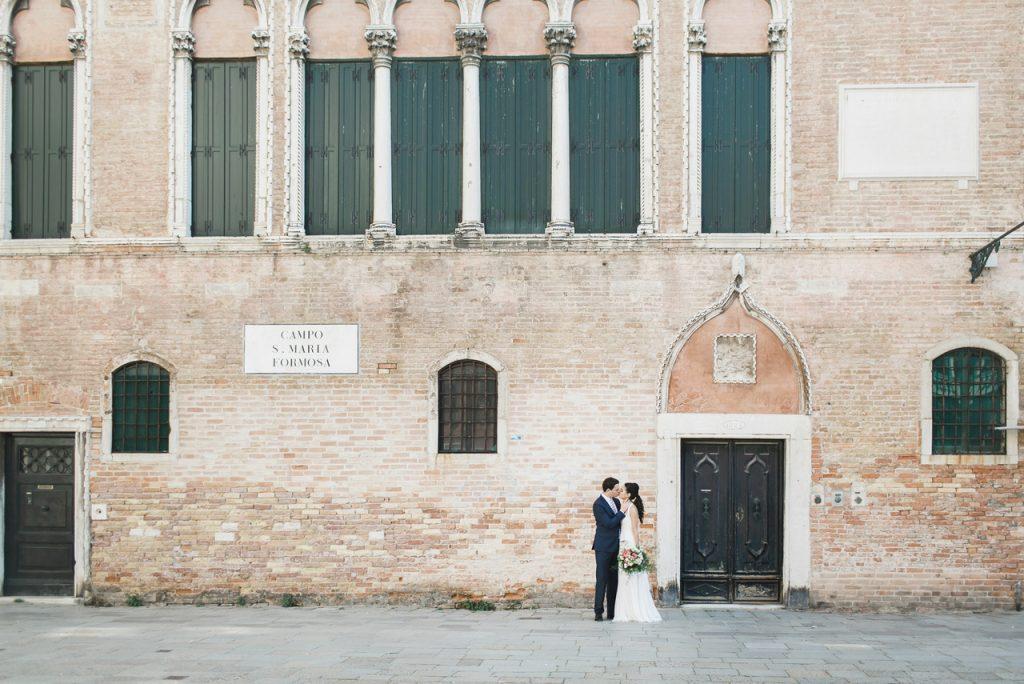 Destination wedding planner Venice
