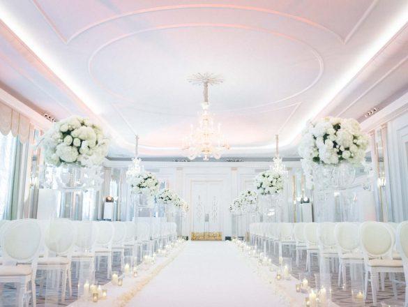 luxury wedding claridges