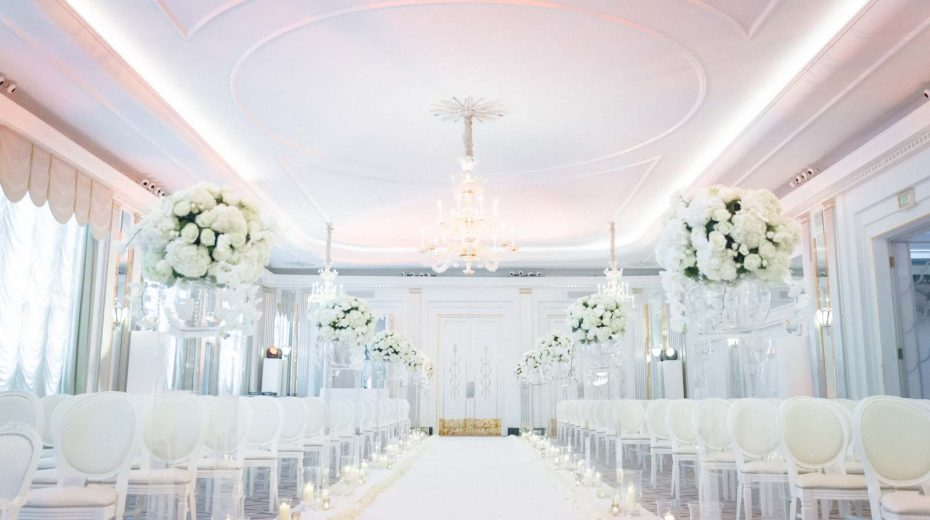 luxury wedding claridges