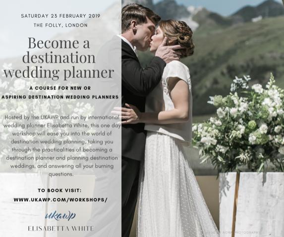 Destination wedding workshop 23 Feb 2019 - UKAWP
