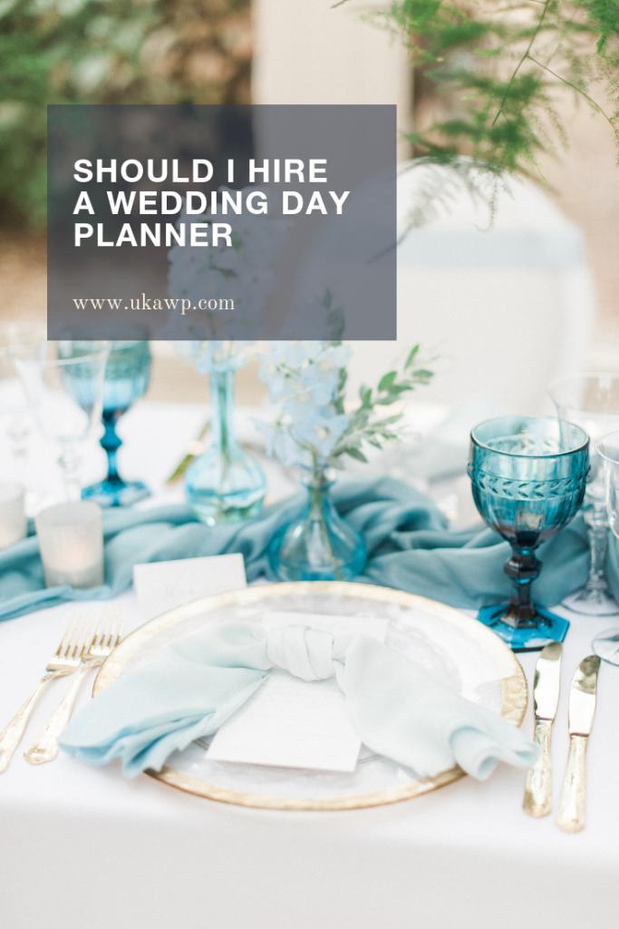 Should I hire a Wedding PLANNER