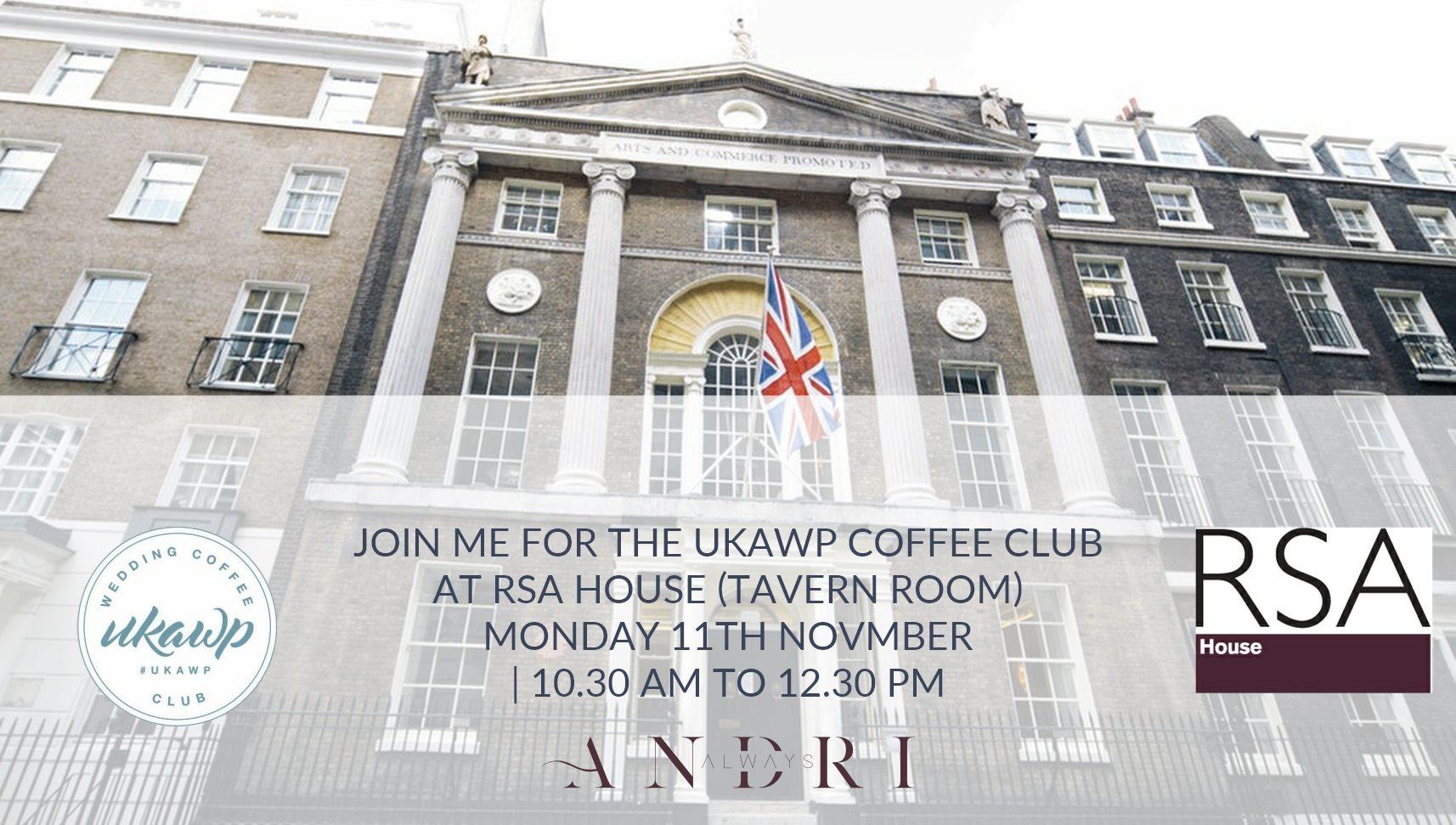 UKAWP London Coffee Morning