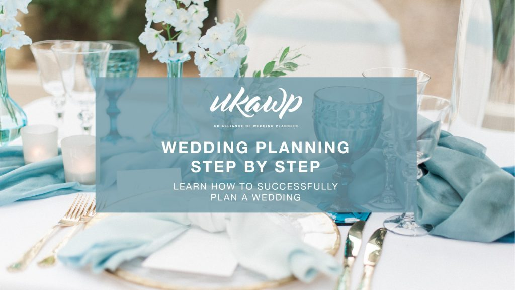 wedding planning step by step
