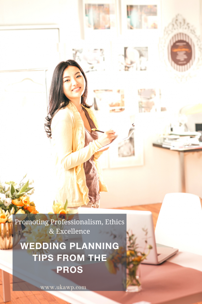 Plan your wedding like a pro